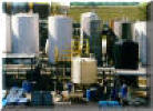 Polyethylene mix tank system for industrical process mixing applications